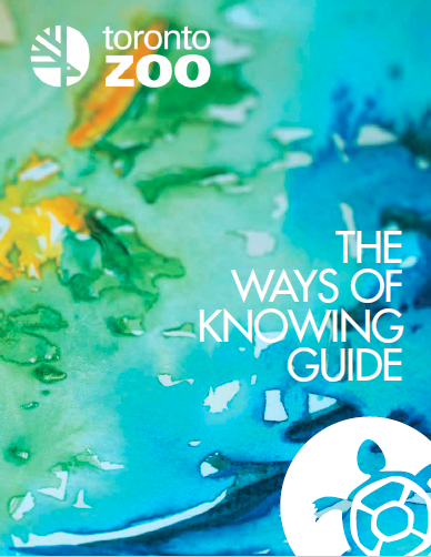 Cover of Toronto Zoo Ways of Knowing guide