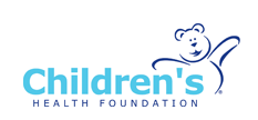 Children's Health Foundation logo and link to website