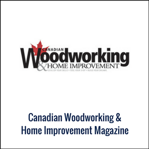 Canadian Woodworking Magazing logo