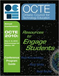 OCTE 2010 conference cover