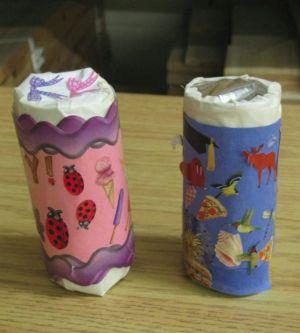 cardboard tube maracas