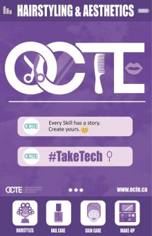 OCTE Poster Hairstyling